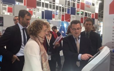 Product presentation at the MEDICA 2015 tradefair